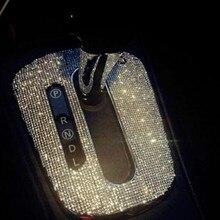3D diy Reflective crystal car stickers for Letter alphabet number digit emblem Letters modify decoration