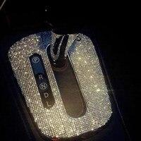 Diy 3D de cristal Reflectante de coches pegatinas para Carta alfabeto número dígitos modificar Letras emblema del coche decoración ENVÍO GRATIS
