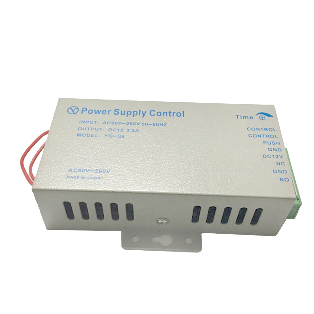 Door Access Control System Switch Power Supply DC 12V 3.5A 5A AC 90~260V For Fingerprint Access Control Machine