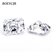BOEYCJR Custom D Color Radiant Cut Brilliant Cut Moissanite Loose Stone Excellent Cut Jewelry Making Engagement Ring