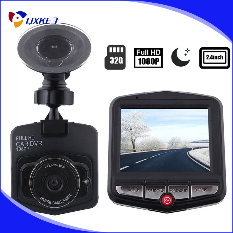 "Free register mail GT300 2.4"" HD Digital Video Registrator Recorder Mini Car Camera car DVRs Night Vision Dash Cam Black Box"