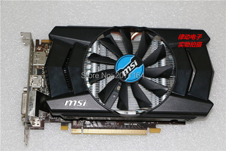 Desktop graphics cards for MSI R7 250 1G Game HD graphics card 128bit