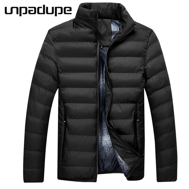 db807fb4b US $30.79 10% OFF|Unpadupe Winter Men Jacket 2018 Brand Casual Mens Jackets  And Coats Thick Parka Men Outwear 4XL Jacket Male Clothing Large Size-in ...
