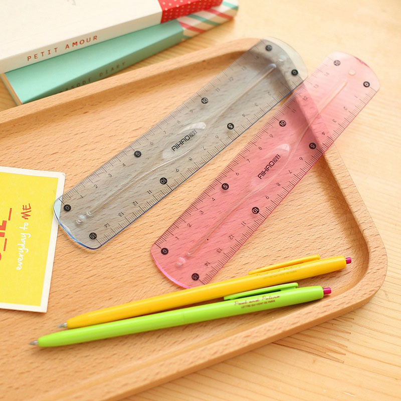 15CM Soft ruler Double scale infinite bending Stationery Standard Rulers For Students Drawing Gift Office School Supplies in Rulers from Office School Supplies