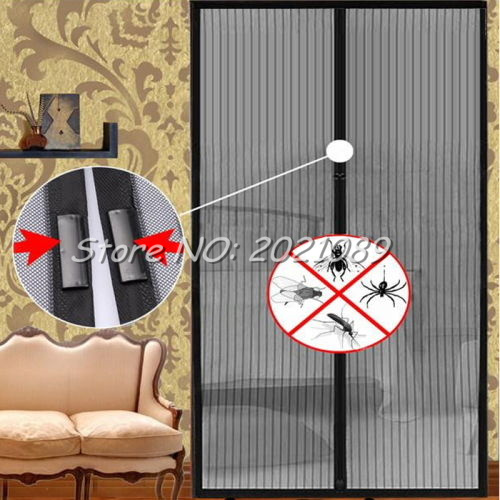 Hot Sale 2017 Timelive Summer Mosquito Net Curtain Magnets Door Mesh Prevent Insect Fly Bug Door Window Tulle Screen Magic