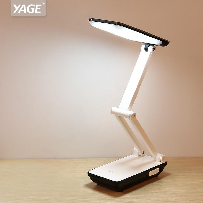 Intellektuell Yage Schreibtisch Lampe Tisch Lampe 32 Stücke Led Schreibtisch Lampe Faltbare 3-schicht Körper 800 Mah Batterie Bunte Nacht Licht Lampe Nacht Licht Wolke Schreibtischlampen