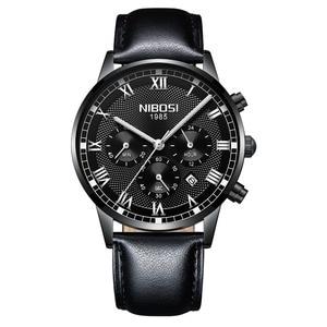 Image 4 - NIBOSI 2019 ใหม่นาฬิกาควอตซ์ผู้ชาย Chronograph กองทัพทหารกีฬานาฬิกาผู้ชายนาฬิกา Relogio Masculino Reloj Hombre