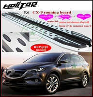 for Mazda CX 9 2011 2017 running board side step nerf bar.newest model,fashion&luxrious,ISO9001 quality,free shipping to Asia