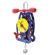 Teenage children kids scientific science educational models experimental toy materials DIY clock gravity model experiment