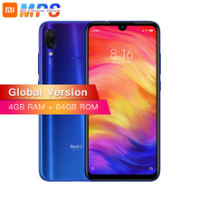 Глобальная версия Xiaomi Redmi Note 7 4 GB 64 GB Смартфон Snapdragon 660 Octa Core 4000 mAh 2340×1080 48MP двойной Камера телефона
