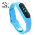 TTLIFE Smart Bracelet Sports Smart Wristbands Waterproof with Smart Tracker Fitness Touchpad OLED Screen for Android/IOS