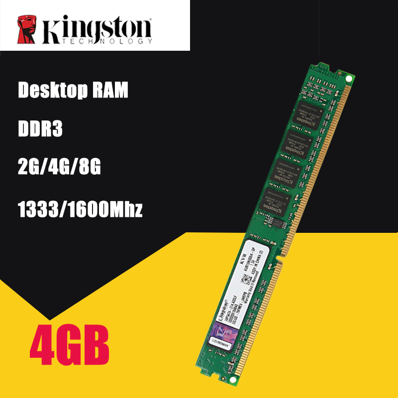 все цены на Kingston PC Memory RAM Memoria Module Computer Desktop DDR3 2GB 4GB 8GB PC3 1333 1600 MHZ 1333MHZ 1600MHZ 10600 12800 2G 4G RAM онлайн