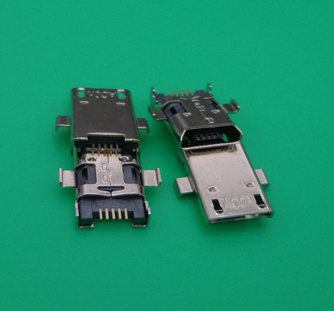 30pcs micro usb cobrando conector de porta