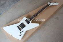 Chinese Factory musical Instruments Custom NEW E SP Explorer White Electric Guitar EMG Pickup Wholesale Guitars 725