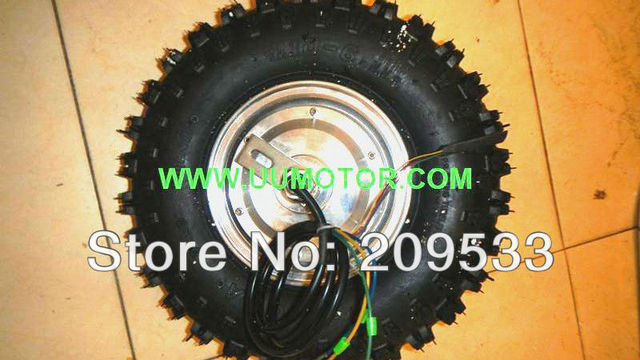 12 inch gearless hub motor brushless dc dropout size 135mm