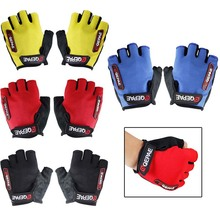 Cycling Bike Bicycle Half Finger Gloves 7 10cm Palm Width Sports MTB Bike Gloves M XL