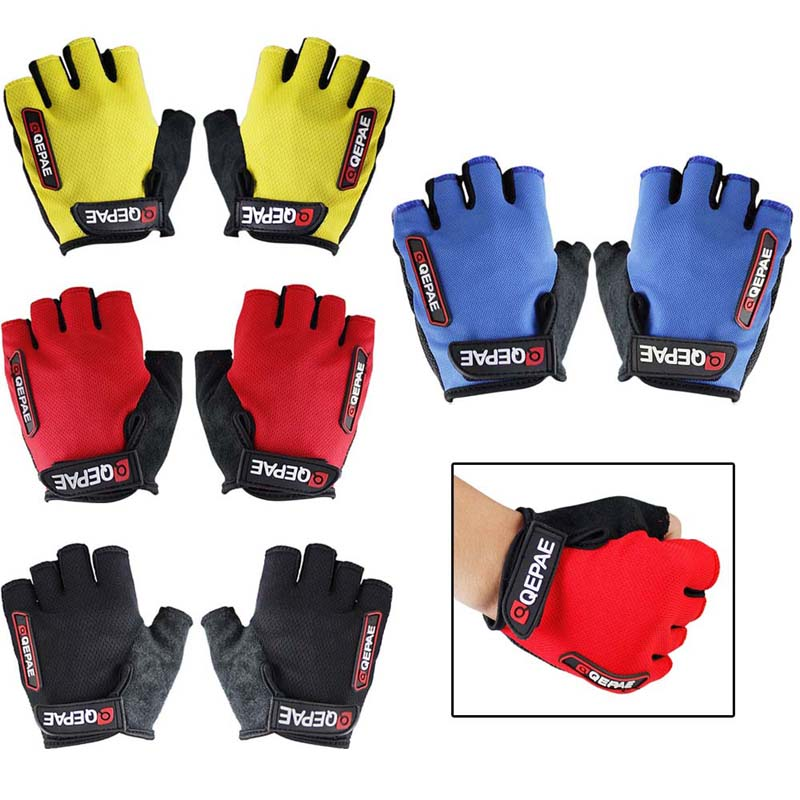 NEW Cycling Bike Bicycle Half Finger 7 10cm Palm Width Sports font b Gloves b font