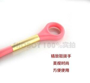 Image 3 - 49 centimetri di Plastica Scarpa Scarpa Corno di Estraibile Super Lungo di Scarpe di Usura Pull up Scarpe Con Manico Lungo