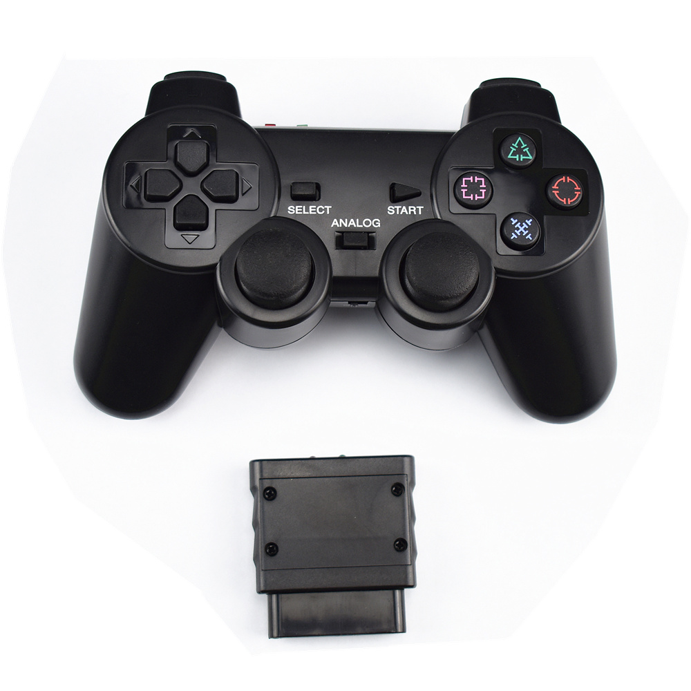 2,4G Drahtlose spiel gamepad joystick für PS2 controller Sony playstation 2 konsole dualshock gaming joypad für PS 2 spielen station