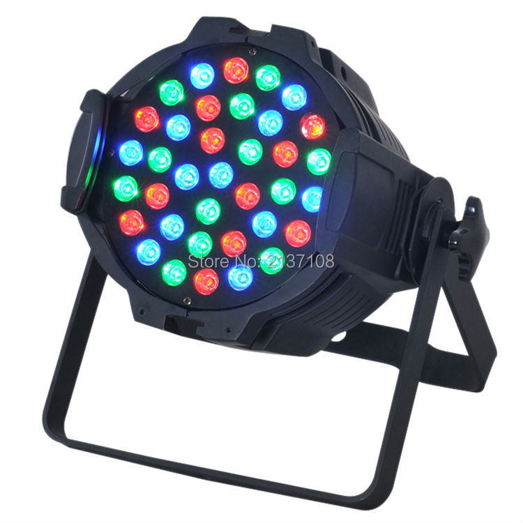 36*3W RGB LED Par Light Indoor 60W 120W Wash DMX DJ Disco Party Wedding Stage Lighting Effect Projector 230V Free Shipping new professional led stage light 6w rgb ac90 240v stage lighting effect par light for dj disco party ktv free shipping