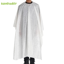 Beauty Girl Cutting Hair Waterproof Cloth Salon Barber Gown Cape Hairdressing Hairdresser F24X15