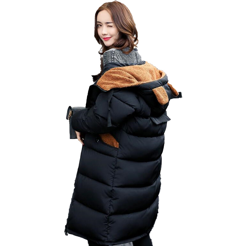 winter jacket women Winter female models thick padded hooded cute womens cotton jacket camouflage large jacket jacket