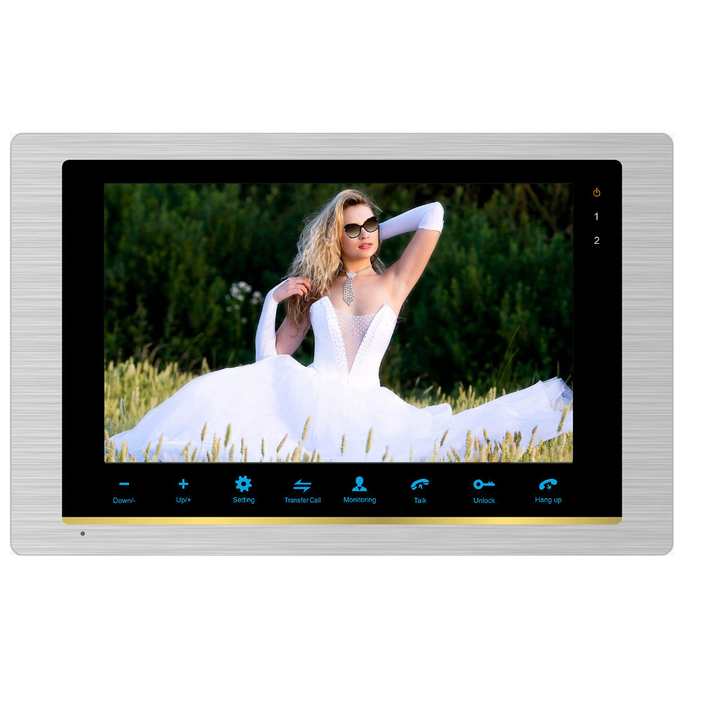 Homefong 10 Inch Indoor Monitor Video Intercom