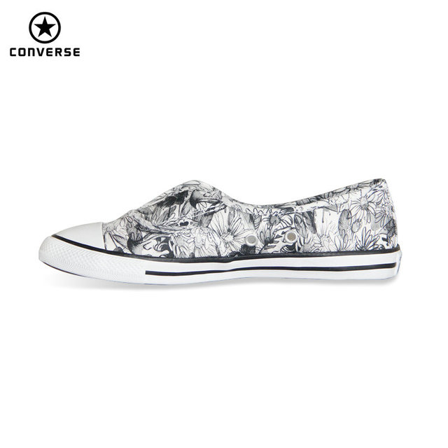 df3bd61d69d6 New Converse All Star women sneakers Black and white color light Popular  summer canvas Skateboarding Shoes 552922C