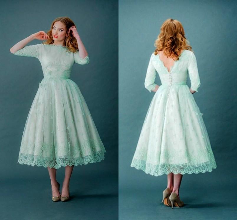 Popular Vintage Prom Dress Mint Green-Buy Cheap Vintage Prom Dress ...