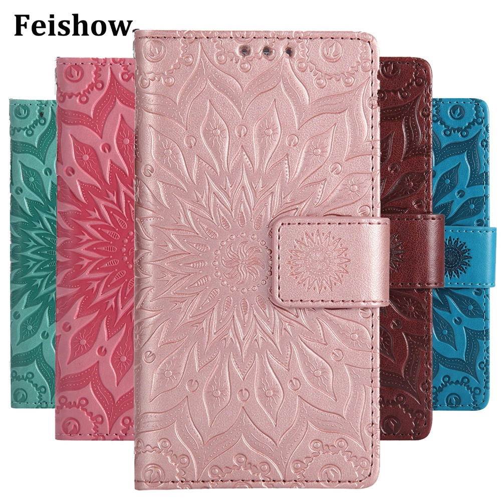 Clothing, Shoes & Accessories For Microsoft Nokia Lumia 640 950 Xl Lte Dual Sim Leather Case Flower Stand Wallet Phone Cover For Nokia 640xl 950xl Case