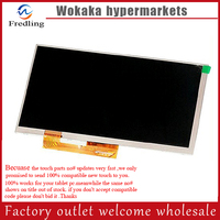 New LCD Display Matrix For 7 Irbis TZ55 3G Supra M74KG TABLET 1024 600 LCD Screen