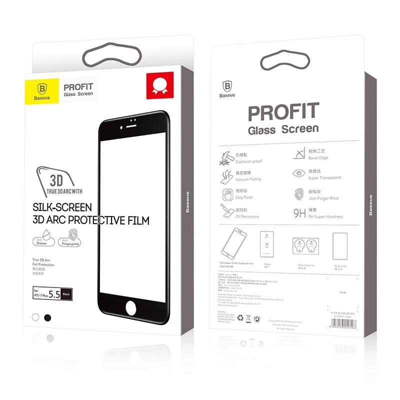Baseus 3D Pelindung Layar Untuk iPhone 7 6 6 s penuh Melengkung Kaca - Aksesori dan suku cadang ponsel - Foto 6