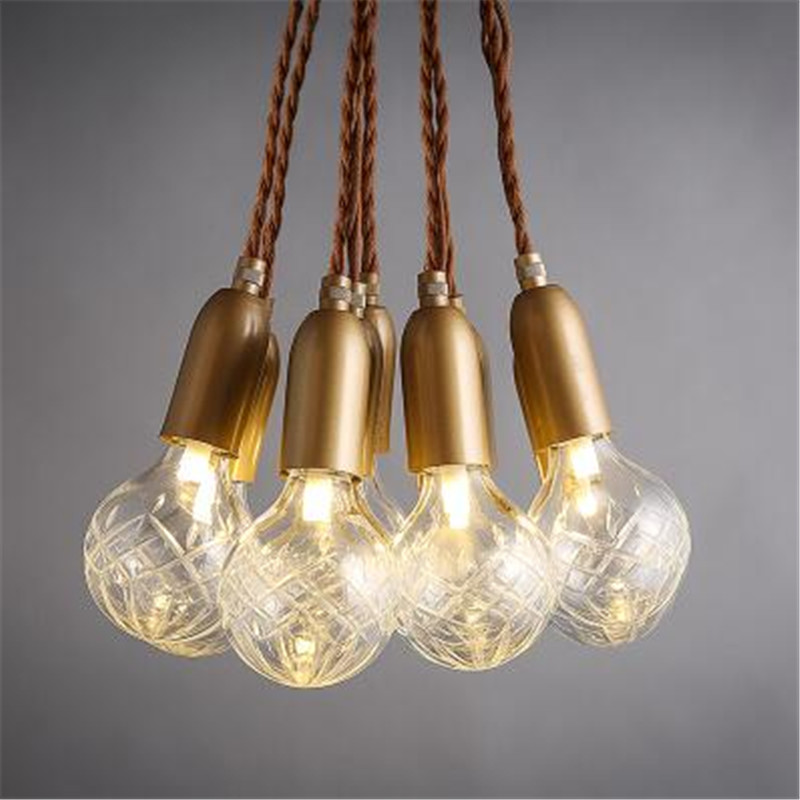 Vintage Handmade Carved Crystal Glass Bulbs Led G9 Pendant Light for Dining Room Living Room Bar Restaurant Lamps 1484 vintage handmade carved crystal glass bulbs led g9 pendant light for dining room living room bar restaurant lamps 1484