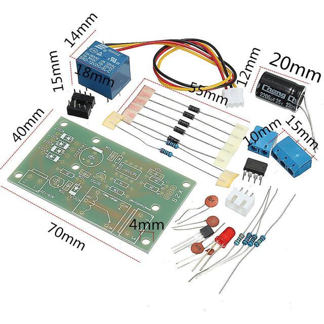 Water Level Indicator With Alarm Electronic Circuit Electronic