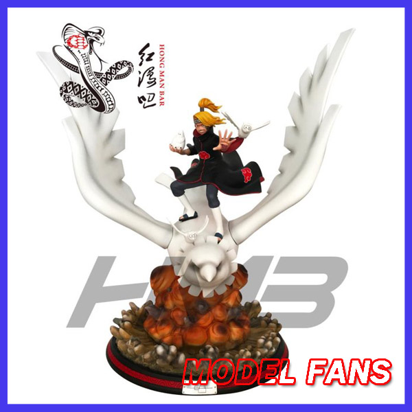MODEL FANS IN-STOCK 50cm NARUTO Deidara GK resin statue for Collection model fans in stock the same paragraph tsume 50cm fist of the north star lao gk resin made for collection