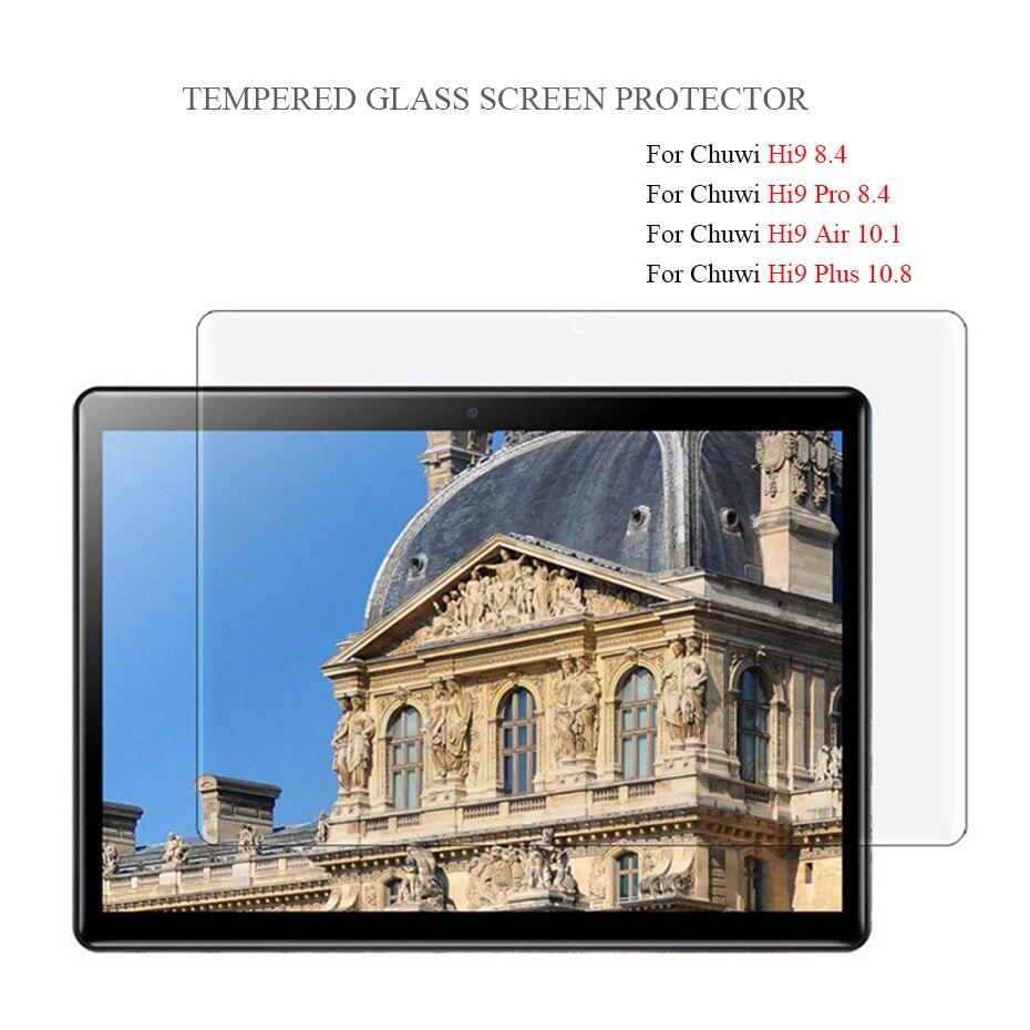 For CHUWI Hi9 Air 10.1 Hi 9 Pro 8.4 Tempered Glass Screen Protector For Chuwi Hi9 Hi9 Plus 10.8 HD 9H Tablet Glass Film