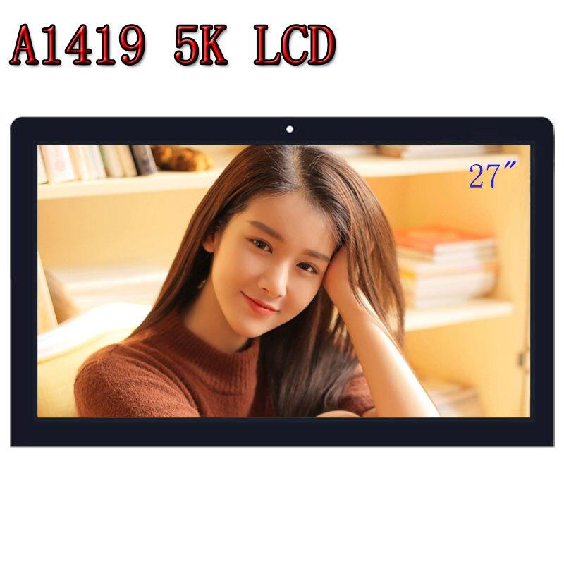 Nuevo LM270QQ1 SD A2 B1 C1 para iMac 27 A1419 5K hd 2014 de 2015 año 2017 LCD Retina con pantalla de vidrio Asamblea EMC 2834 de 2806 a 3070