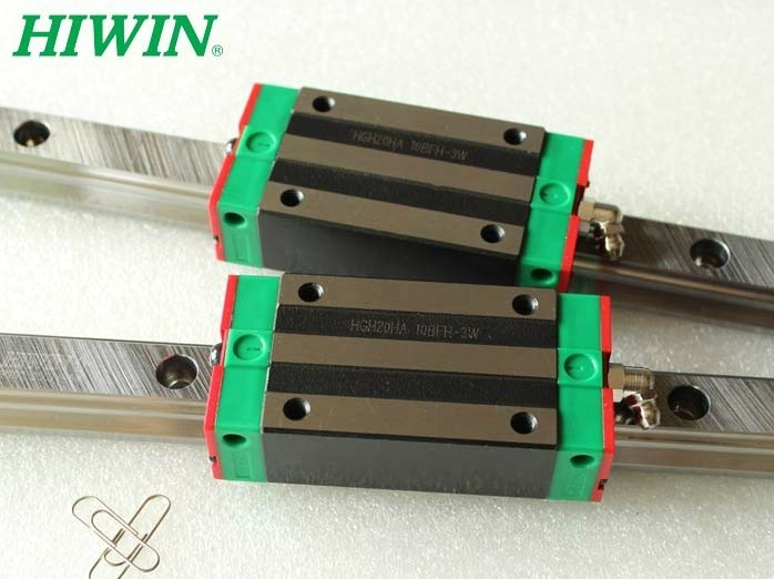 2pcs 100% original Hiwin linear guide HGR15 -L800mm+4pcs HGH15CA narrow blocks for cnc free shipping to argentina 2 pcs hgr25 3000mm and hgw25c 4pcs hiwin from taiwan linear guide rail