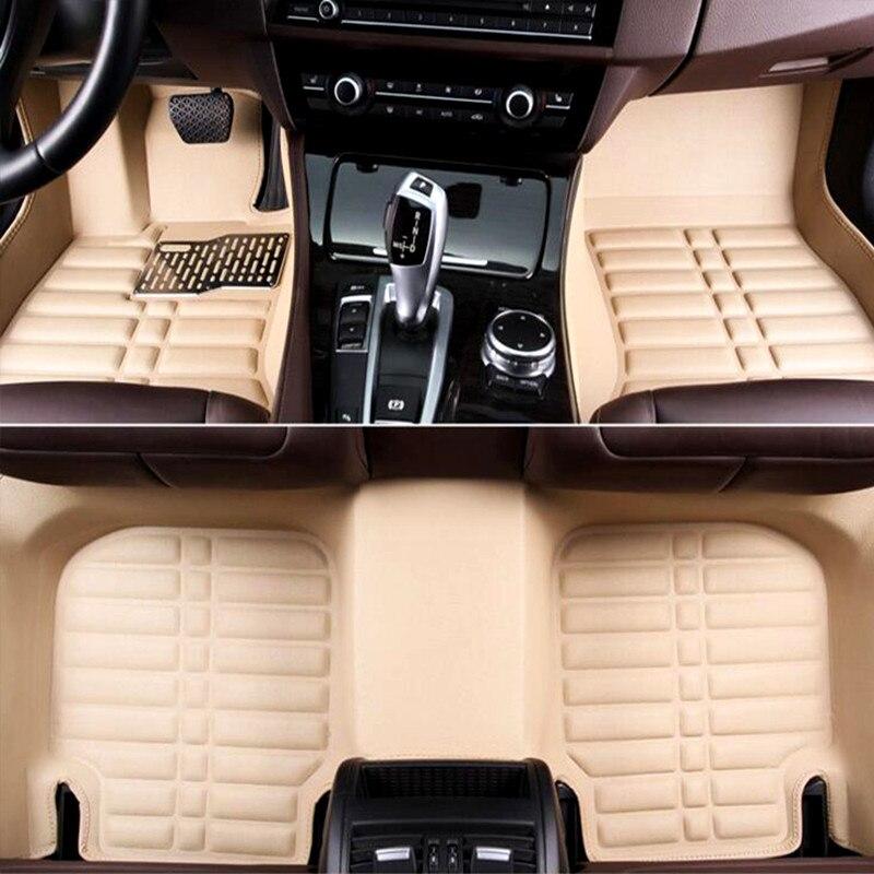 3D Personnalisé De Voiture tapis de sol pour Mazda 6 Accessoires Mazda3 2012 Mazda 3 CX-7 CX-5 accessoires de voiture tapis de voiture Tapis Auto