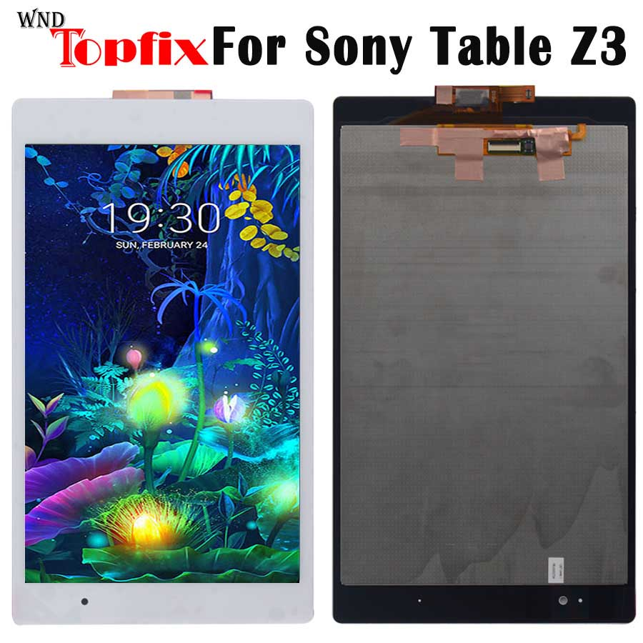 NEW For Sony Xperia Tablet Z3 LCD Display SGP611 SGP612 SGP621 Touch Screen Digitizer Assembly Replacement