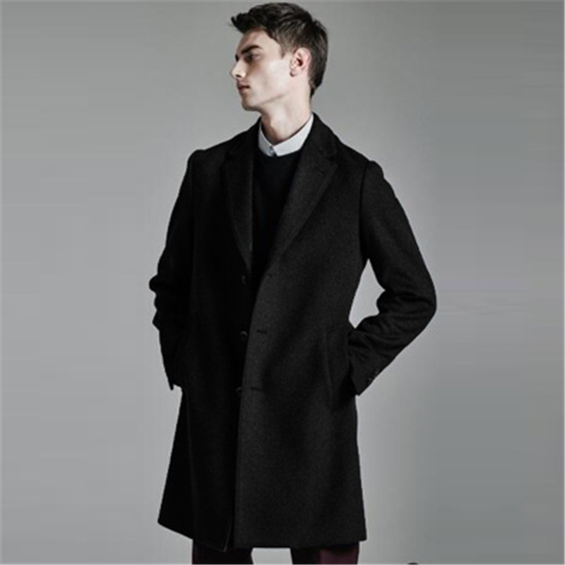 mens fashion pea coats Picture - More Detailed Picture about ...
