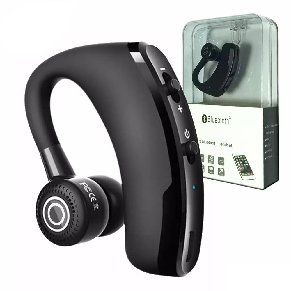 Leegoal V9 Handsfree Wireless Bluetooth Earphones Noise: V9 Wireless Headset Voice Control Music Sport Bluetooth