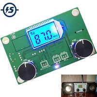 Module récepteur Radio FM Module de Modulation de fréquence stéréo carte de Circuit imprimé avec silencieux affichage LCD Module LCD 3-5 V