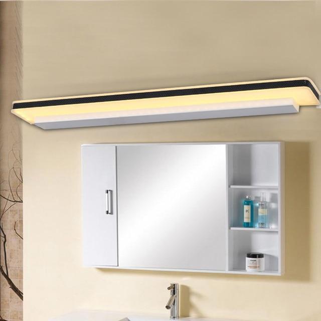 led bathroom mirror lamp bedroom vanity wall lights for home lighting fixtures living light modern bathroom - Designer Bathroom Wall Lights