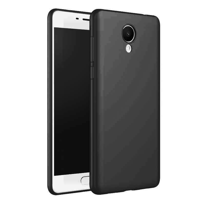 Meizu m5s Kasus Mewah Matte Shockproof Meizu m5c Kasus Silikon - Aksesori dan suku cadang ponsel - Foto 6