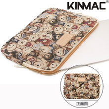 canvas Laptop computer Bag for Macbook Professional/Air 13 Case Shockproof Girls Male for MacBook 15 Pc Bag 13