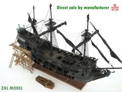 ZHL Top Level der Schwarz Perle modell holz schiff (alle-szenario version Englisch detaillierte handbücher)