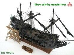 ZHL di Livello Superiore della Perla Nera modello di nave di legno (all-scenario versione Inglese dettagliate manuali)