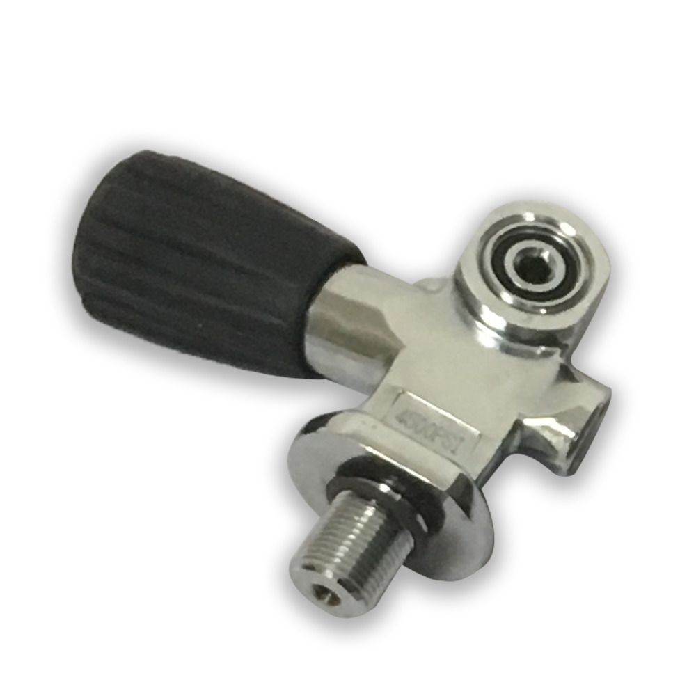 SCUBA Diving Yoke Valve Equipment HPA 4500PSI For Cylinder Thread M18*1.5 Drop Shipping