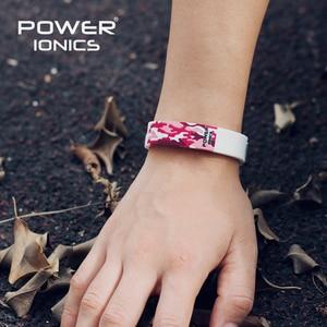 Image 5 - Power Ionics Titanium Ion F.I.R 3D Camo Bracelet Balance Wristband Energy PT048